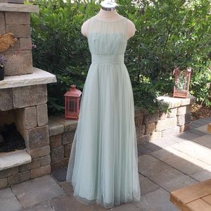 Alfred Angelo Bridesmaid Prom Cocktail Green Dress